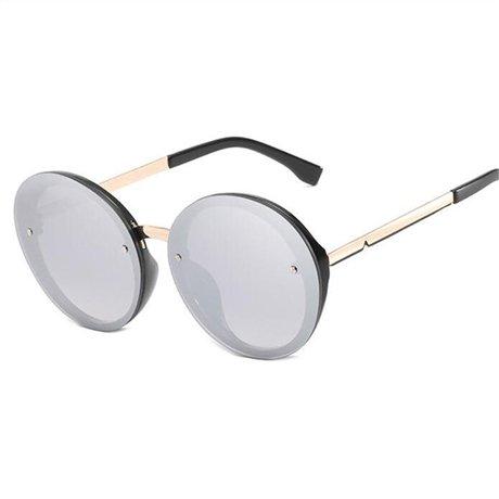 sol Gafas de Amarillo Gafas Gafas azul Gafas GGSSYY Mujeres de Rosa de sol Beige sol caramelo redondas con Multi de de mujer de montura transparentes sol colores CAwqR