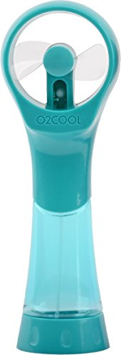 O2 COOL Elite Misting Fan, Teal, used for sale  Delivered anywhere in USA