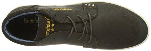 Pantofola d'Oro Aosta Dandy Mid Men - Zapatillas Hombre Coffee Bean
