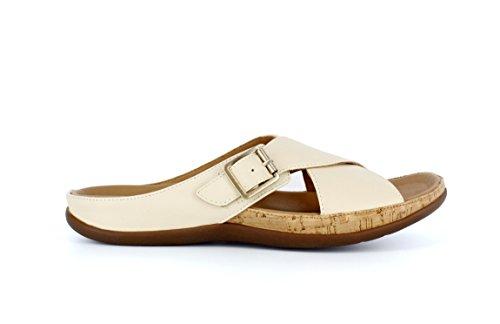 Calzature Plantare Sandalo Fibbia Sandalo Elegante Maria Marshmallow Si Sforzano Morbida Crossover Pelle 5pPq5Aw