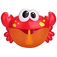 HUGMO 'Infantino' Crab, Baby Bubble Bath Toy- Orange