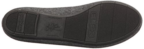 Lifestride Mujeres Dorian Ballet Flat Black Heather