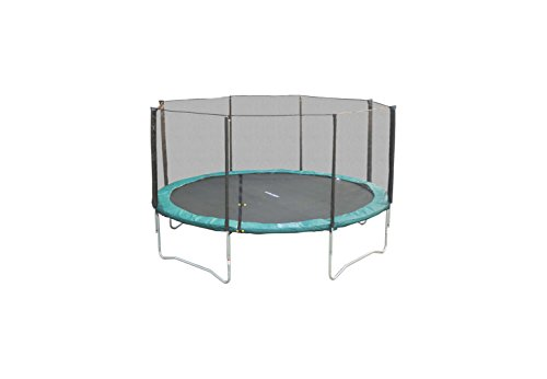 Super Jumper Safety Net/Trampoline Combo with Green Pad, 14-Feet
