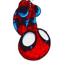 iPhone X Case, Litech™ [FlexFit] Marvel DC Comic Hero Inspired Series [Premium Scratch-Resistant], iPhone 10 (Spider Man)
