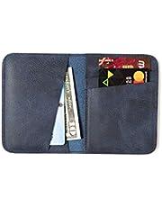 İnce, Slim, Minimalist hakiki deri cüzdan, nakit para ve kart bölmesine kolay erişim