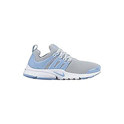 Nike Mädchen Presto (Gs) Laufschuhe Plateado (Pure Platinum / Bluecap-White-Wolf Grey)
