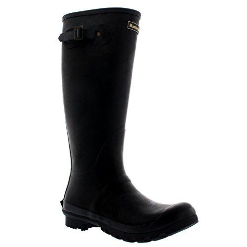 Barbour Mens Bede Winter Mid Calf Snow Waterproof Rain Wellington Boots - Black - 11-44 from Barbour