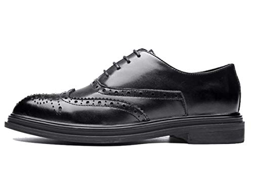 Chaussures Brock Pointues England Hommes Business Shiney Sculptées Casual Black New qAETxZw