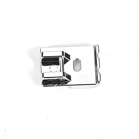 MAGIKON 2-Pack Piping Sewing Machine Presser Foot , Fits All Low Shank Snap-On Singer, Brother, Babylock, Euro-Pro, Janome, Kenmore, White, Juki, New Home, Simplicity, - Euro Pro Sewing
