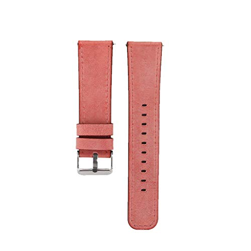 Price comparison product image BIYATE Replacement Bands Compatible for Fitbit Versa,  Versa Lite Edition and Versa Special Edition,  Sport Genuine Leather Band Replacement Accessories Strap for Fitbit Versa Smart Watch,  Women Men