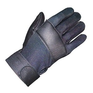 Anti-Vibration Gloves, Leather, L, Right
