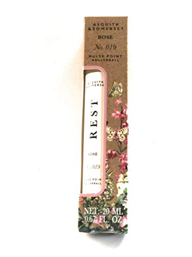 (Asquith & Somerset ROSE Relax Pulse Point Rollerball .67 Fl Oz)