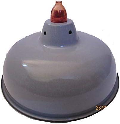 GREY 10 pcs VINTAGE Marine ENAMEL SHADES Light Porcelain Paint Boat Light