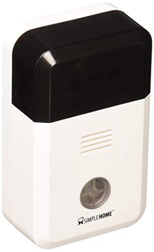 SimpleHome XHS7-1002-WHT Wi-Fi Smart Siren Alarm, White