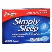 Simply Sleep Nighttime Sleep Aid, 24 ea