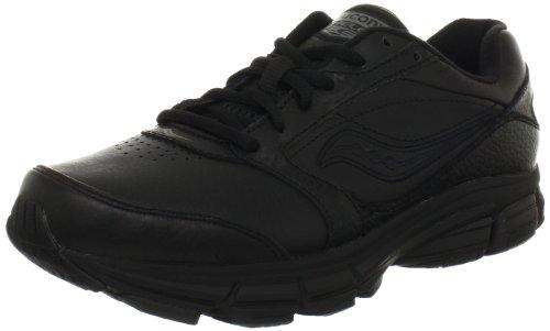 Saucony Women's Echelon LE2 Walking Shoe,Black,6.5 W US