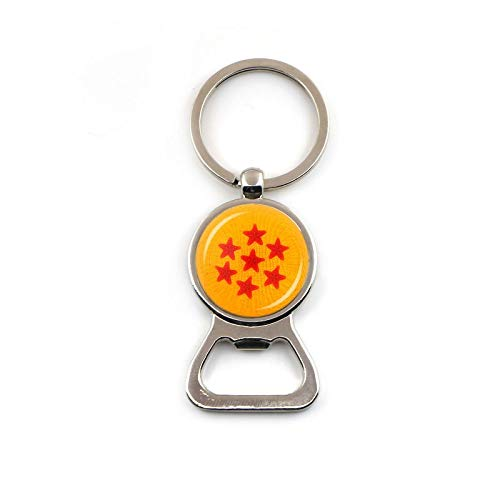 Key Chains - Fashion Accessories Anime Dragon Ball Beer Bottle Opener Keychain Key Ring Dropshipping - by YPT - 1 PCs ()