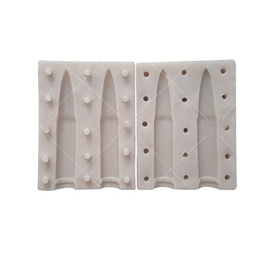 Amazon.com: WYD - Molde de silicona para fondant, diseño de ...