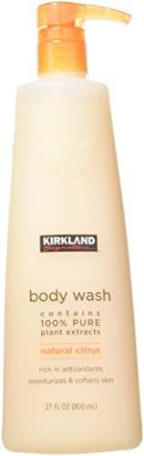 Kirkland Signature Natural Body Wash 2pk, 27 Ounce