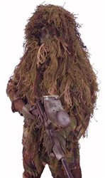 Paintball Ghillie Suit - Woodland