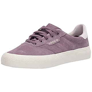 adidas Originals Men's 3MC Regular Fit Lifestyle Skate Inspired Sneakers Shoes, legacy Purple/chalk White/Gum, 4.5 M US