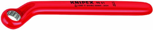 KNIPEX 98 01 08 1,000V Insulated 8 mm Offset Box (Insulated Box End Wrench)