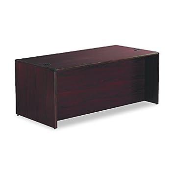 HON 10785RNN 10700 Series Single 3 4 Right Pedestal Desk 72w x 36d x 29 1 2h Mahogany