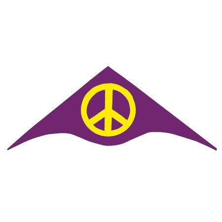 Gayla Kites Nylon Peace Kite 50'' w/Twine and Winder