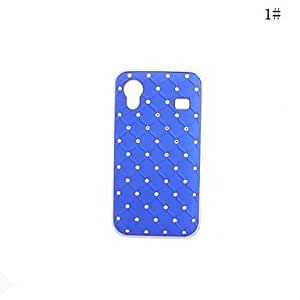 Fashionable Plastic Zircon Starry Pattern Hard Case for Sansung S5830(Assorted Colors) --- COLOR:7