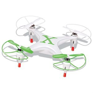 Microgear 2.4GHz Radio Controlled RC QX-827 4 Channel Mini Quadcopter - Green (Rc Gam Airplane)