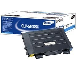 CLP-500D5C Cyan Toner for the CLP (Red Samsung Toner)