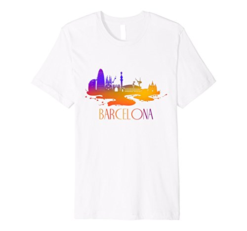 Beautiful Barcelona City Skyline ()