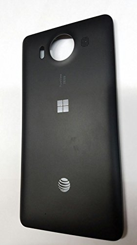 Microsoft Lumia 950 Black Standard Back Cover Battery Door with NFC