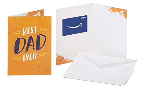 Amazon.com Gift Card in a Greeting Card (Best Dad Ever Design)