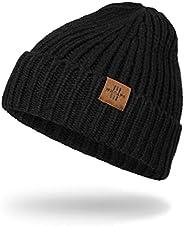 Beanie Hat for Women Knit Warm Winter Hats Acrylic Soft Unisex Daily Cuffed Beanie
