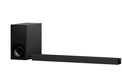 Sony Sound Bar Speaker HT-Z9F: 3.1ch Dolby Atmos/DTS:X TV Soundbar with WiFi & Bluetooth Technology for Virtual Surround Sound - Wall Mountable Home Theater System for TVs with Wireless Subwoofer