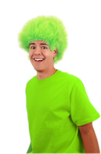 [elope Fuzzy Wig, Lime, One Size] (Lime Green Wigs)