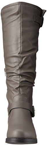 Wide Co Brinley Boot Riding Women's Grey Sunny Wc Oqqx6w4g