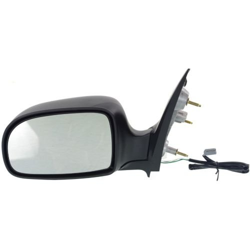 MAPM - DRIVER SIDE POWER DOOR MIRROR; TEXTURED; WITHOUT HEATED GLASS; - FO1320117 FOR 1995-1998 Ford Windstar ()
