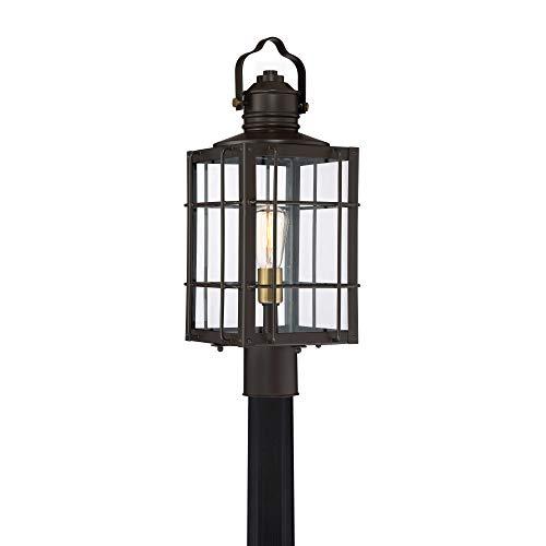 Quoizel WTO9009WT West Oak Outdoor Lantern Large Western Bronze