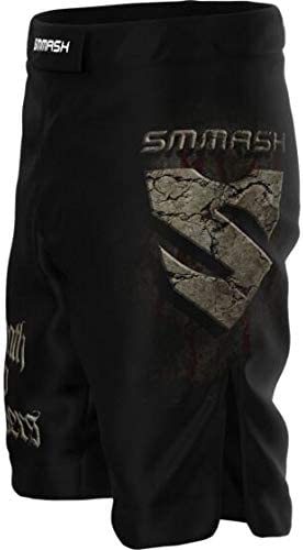 UFC Kampfsport MMA Crossfit Trainingshose Atmungsaktiv und Leicht Training Sporthose Kurz f/ür M/änner Hergestellt in der EU SMMASH Joker Herren Sport Shorts f/ür Boxen