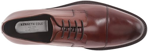 Kenneth Cole New York Mens Jump In Oxford Cognac IffuNW