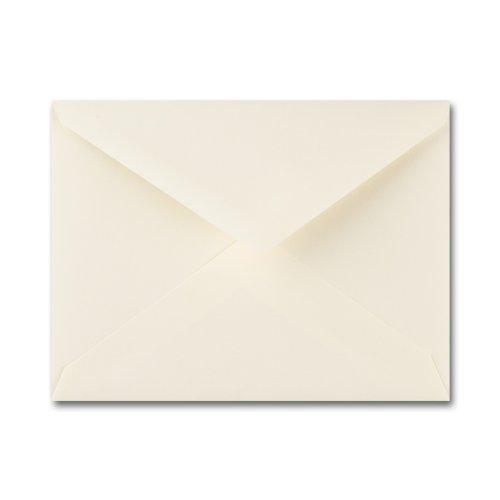 Fine Impressions Ecru Envelopes - No. 5 1/2 Baronial (4 3/8 x 5 3/4) 70 lb Text Vellum - 250 per Box