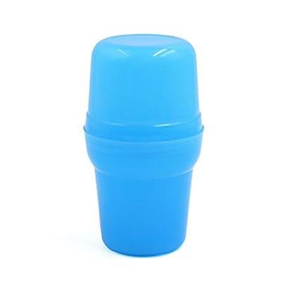 DealMux plástico azul profesional del pelo del salón de tinte tinte para colorear Botella Sacudiendo Mezcla