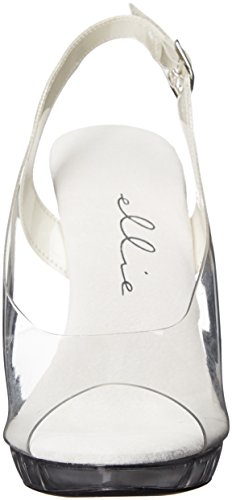 Sandal w Shoes Heeled Women Clear 521 Ellie Spring n1HgZnT