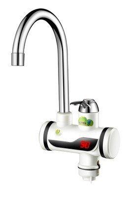 memeda Digital Calefacción Rápida Radiador eléctrico instantáneo de agua Calentador de agua Grifo eléctrico de doble