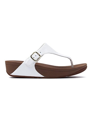 Blanco Fitflop Tm Para The Skinny Chanclas Mujer SSRwYCqA