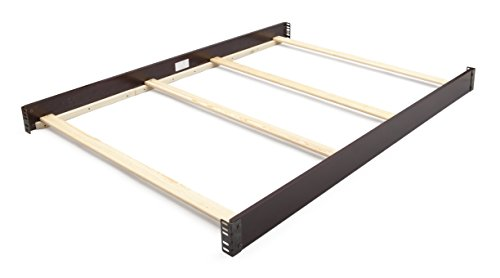 (Simmons Kids Slumbertime Full Size Crib Conversion Rails, Black Espresso)