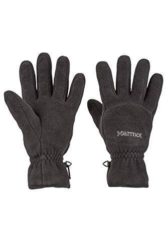 Marmot Men's Fleece Glove, Black, Large