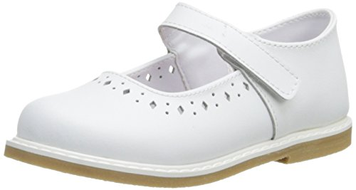 Baby Deer Stichout Mary Jane (Infant/Toddler/Little Kid),White,6 M US Toddler - Leather Baby White Deer
